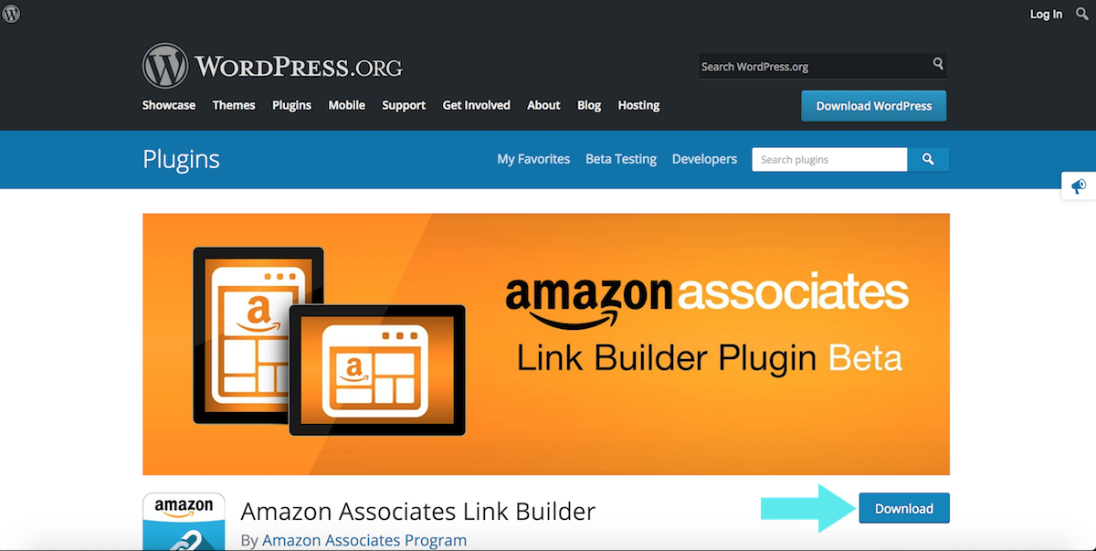 amazon affiliates builder