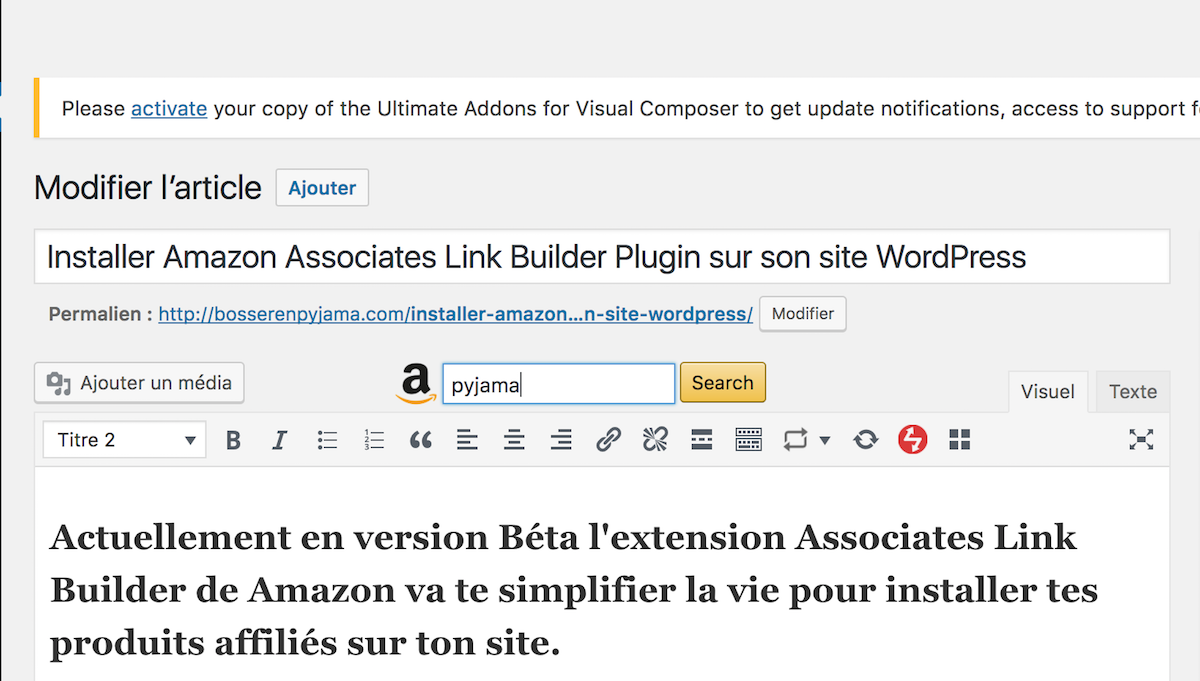 amazon searchbar plugin