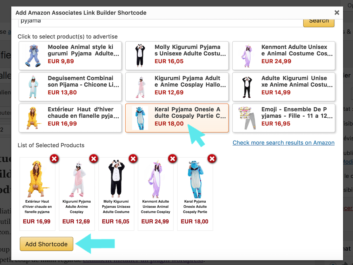 amazon associates plugin