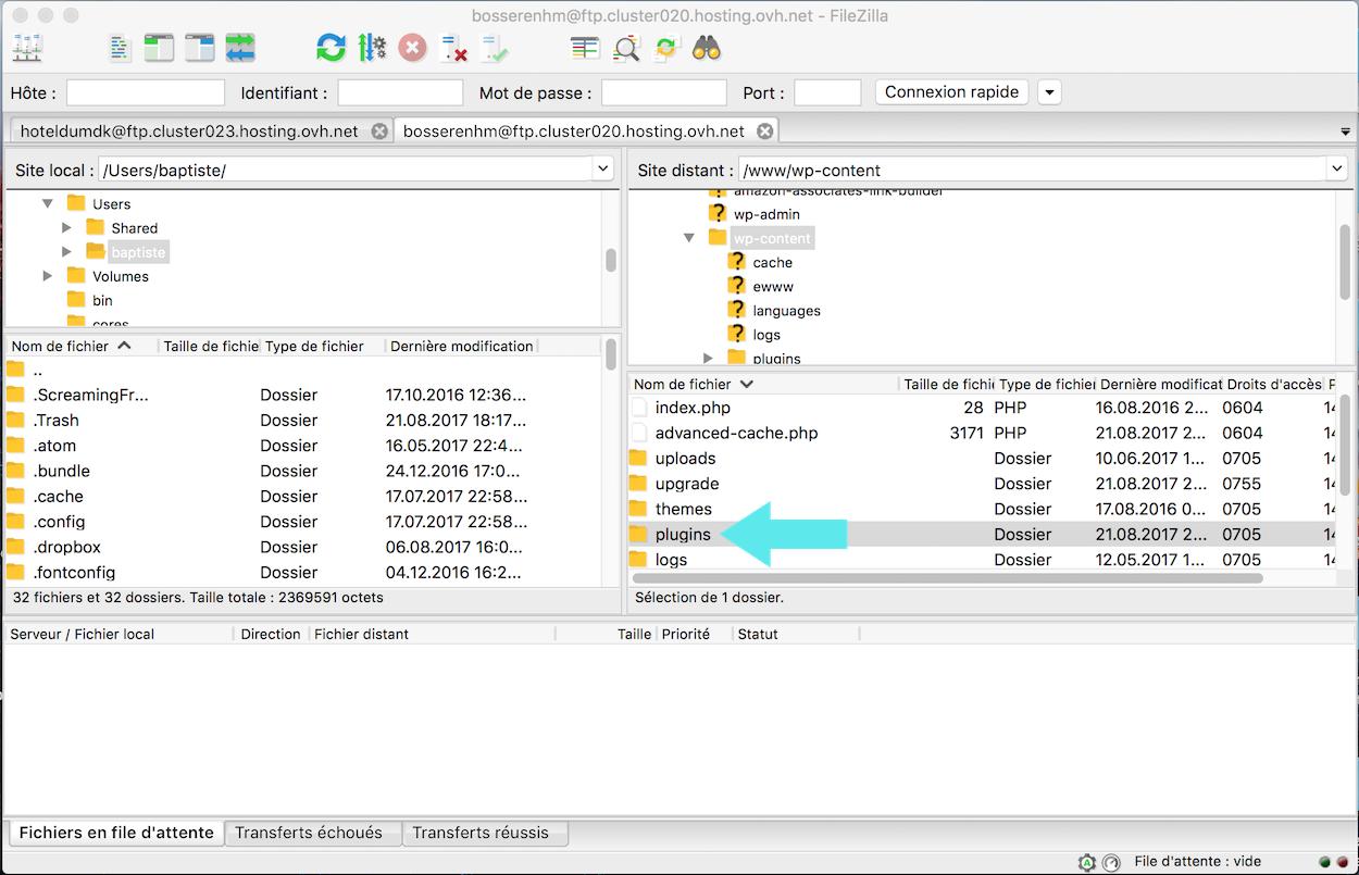 renomme fichier plugins ftp