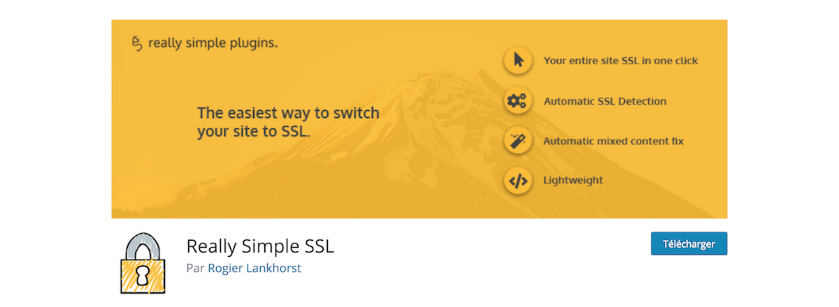 WordPress Plugin Really Simple SSL