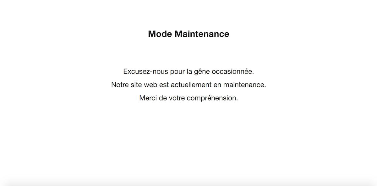 message mode maintenance