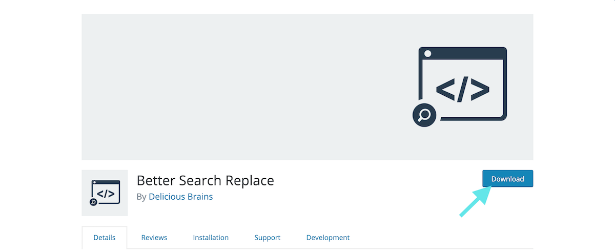 Plugin WordPress Better Search Replace