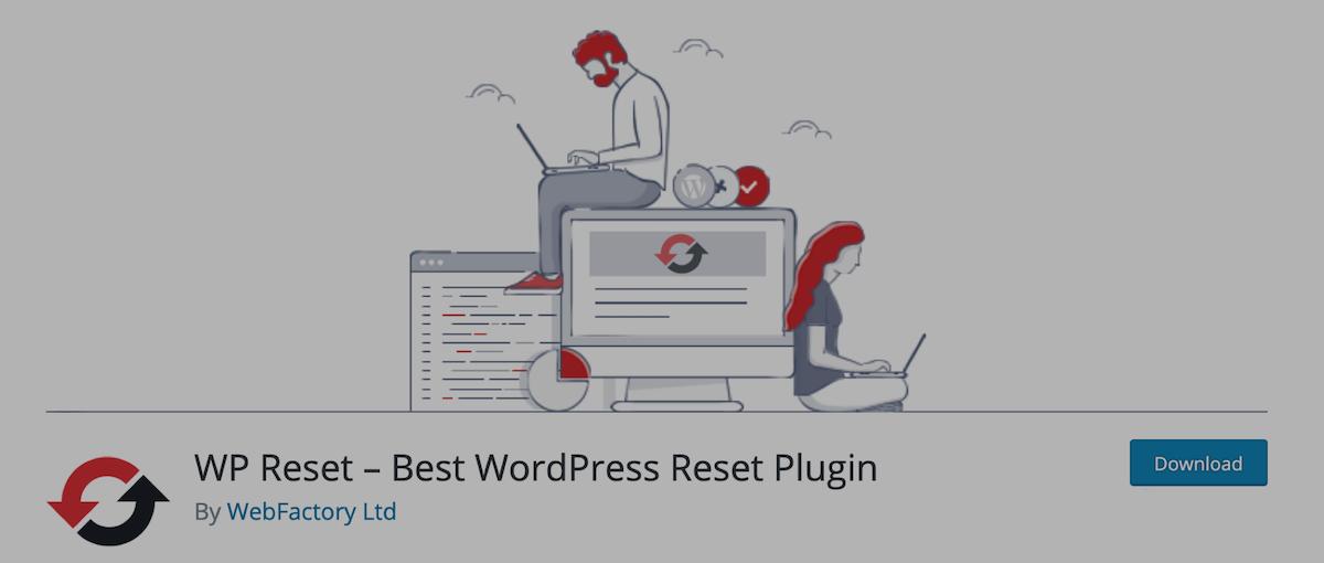plugin Wordpress wp reset