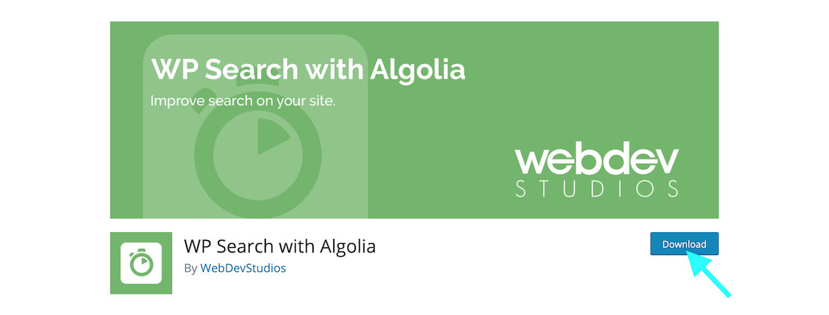 WP search with Algolia plugin wordpress