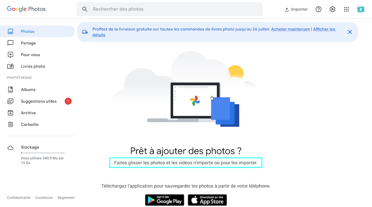 Google Photos Interface