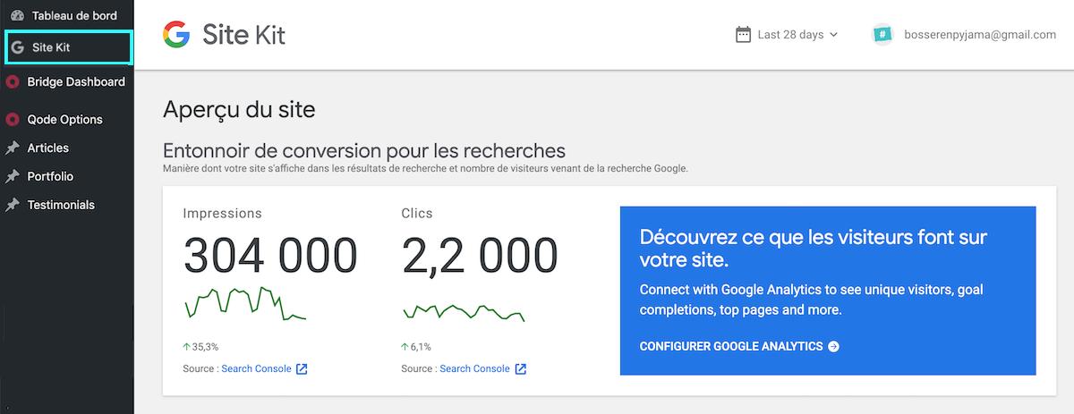 Google Search Console dans WordPress